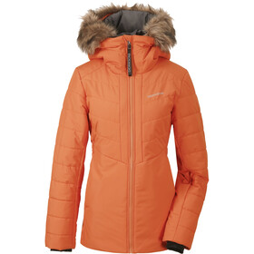DIDRIKSONS Nana Puff 2 Chaqueta Mujer, burnt orange